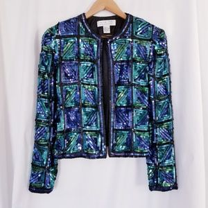 Vintage Sequin Jacket